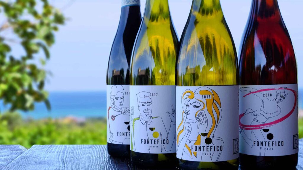 Fontefico abruzzo vino biologico naturale wine
